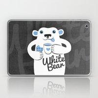 White Bear Laptop & iPad Skin