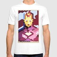 T-shirt featuring Geometric Ironman by Head Glitch