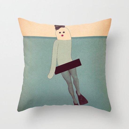 s i r e n a Throw Pillow