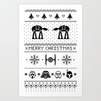 May The Christmas Spirit… Art Print