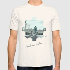 Fallout 4 Mens Fitted Tee Natural SMALL