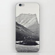 Glacier Mountain Lake Bl… iPhone & iPod Skin