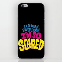 I'm So Excited! I'm So E… iPhone & iPod Skin