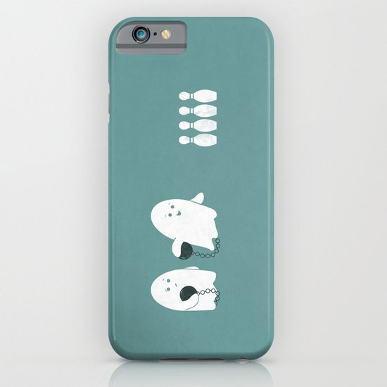 Bowling Ghost iPhone & iPod Case