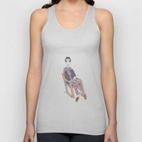 girl in a chair Unisex Tank Top