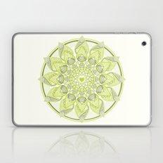 Green Circle Pattern Laptop & iPad Skin