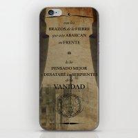 Con Los Brazos De La Fie… iPhone & iPod Skin