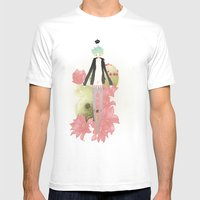 Clog Mens Fitted Tee White SMALL