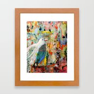 Framed Art Print featuring Vers Toi by Sylvie Demers