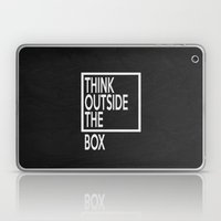 Think Outside The Box 01 Laptop & iPad Skin