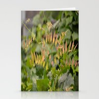 Autumnal Fern Stationery Cards
