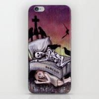 Sleeping at last iPhone & iPod Skin