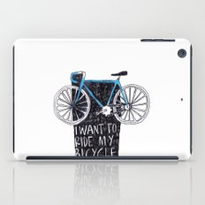 My Bicycle iPad Case