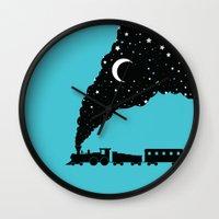 The Night Train Wall Clock