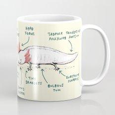 Anatomy of an Axolotl Mug