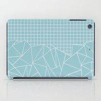 Ab Outline Grid Salty iPad Case