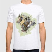 Explosion Mens Fitted Tee Ash Grey SMALL