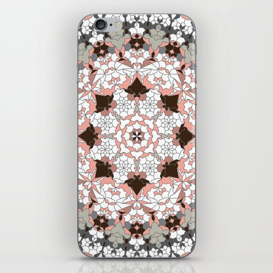 Khatem Rosette 004 | Muted iPhone & iPod Skin