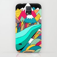 Galaxy S5 Cases featuring River in the mountains by Steve Wade