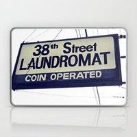 38th Street Laundromat Laptop & iPad Skin