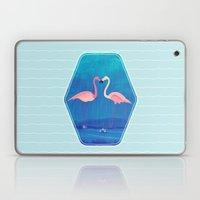 Flamingos in Love Laptop & iPad Skin