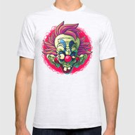Killer Clown Mens Fitted Tee Ash Grey SMALL