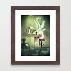 Absinthe Framed Art Print