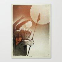Fallen: I. Canvas Print