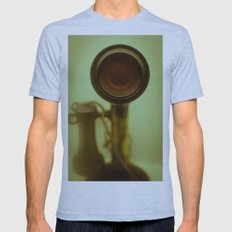 Can you hear me now? Mens Fitted Tee Athletic Blue SMALL