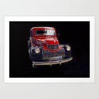 Classic Chevy Truck Art Print
