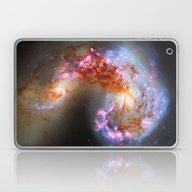 Antennae Galaxies Laptop & iPad Skin