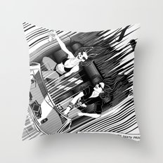 It's better than safe. It's death proof Throw Pillow