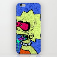 LISA GRIMMSON. (THE GRIM… iPhone & iPod Skin