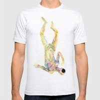 Cuerpo 02 Mens Fitted Tee Ash Grey SMALL