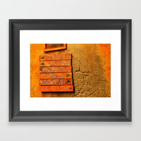 Point Me In The Right Direction Framed Art Print
