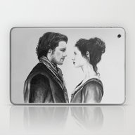 Jamie And Claire ~ Outla… Laptop & iPad Skin