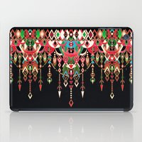 Modern Deco In Red And B… iPad Case