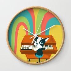 Boogie on Mellotron Wall Clock