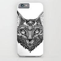 iPhone Cases featuring Lynx by Feline Zegers