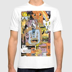 The Escape Plan Mens Fitted Tee White SMALL