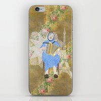 Woman Playing The Accord… iPhone & iPod Skin
