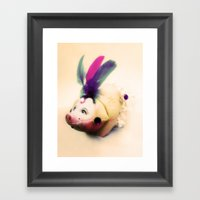 Lady Chancha Framed Art Print