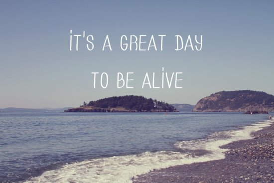 It's A Great Day Art Print