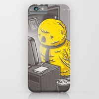 iPhone Cases featuring Get a job by gebe