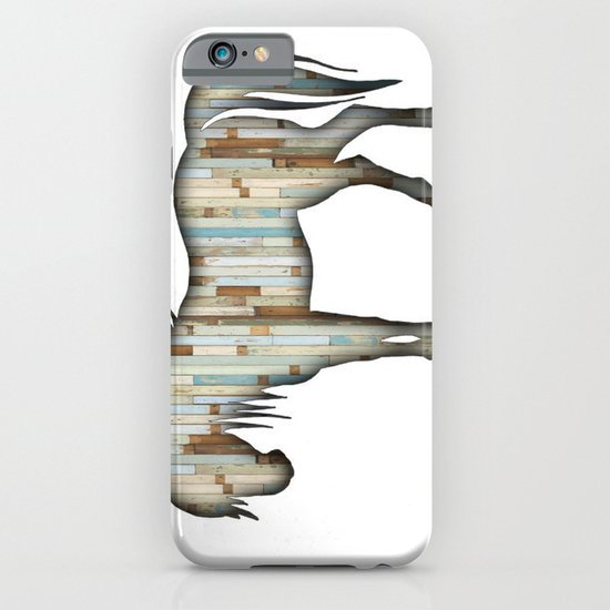 Wooden horse iPhone & iPod Case
