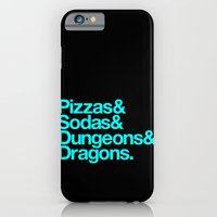 iPhone & iPod Case featuring Dungeons & Dragons & Swag by Tuff Industries