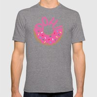Doh! Mens Fitted Tee Tri-Grey SMALL