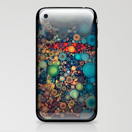 Butterfly love iPhone & iPod Skin