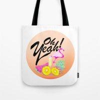Oh Yeah!   Originals Tote Bag