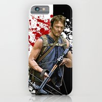 iPhone & iPod Case featuring Daryl Dixon by SRB Productions
